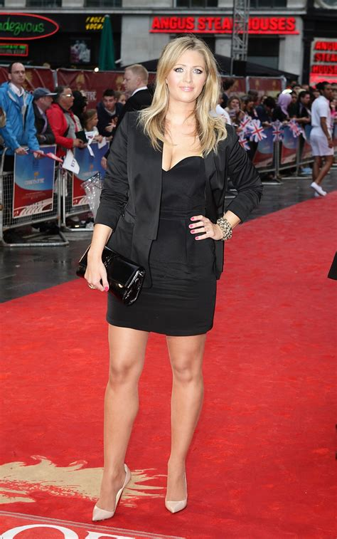 HAYLEY McQUEEN at Chariots Of Fire Premiere in London