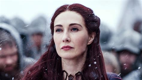 """Here's who the Red Woman in """"Game of Thrones,"""" Carice van"""