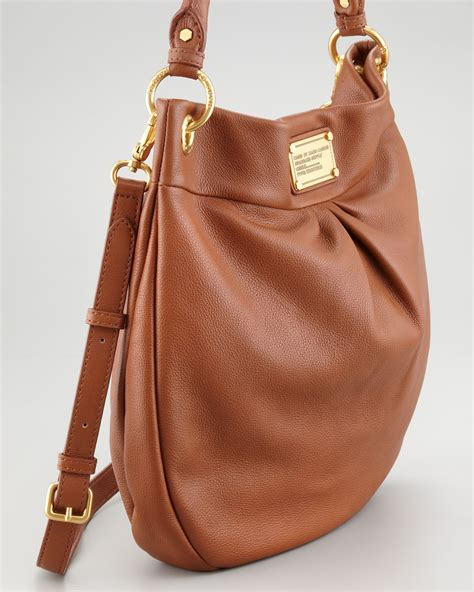 Marc By Marc Jacobs Classic Q Hillier Hobo Bag in Brown - Lyst