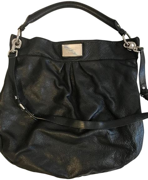 Marc by Marc Jacobs Classic -q Huge Hillier Black Leather