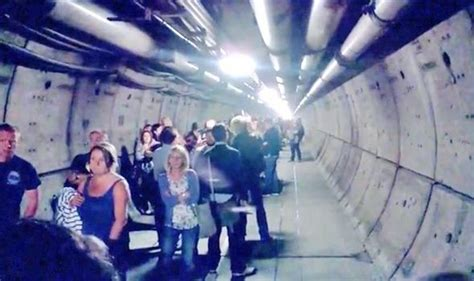 People evacuated from Channel Tunnel following power